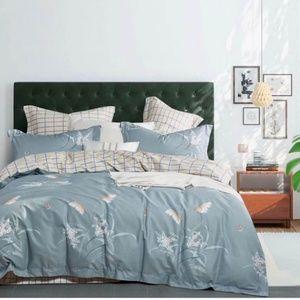 Brand New 3pc duvet cover set 100% cotton